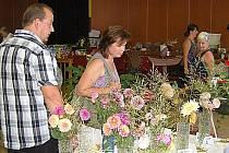 Výstava květin ve Staňkově.