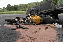 Dopravní nehoda u Kouta na Šumavě - neděle 12. července.
