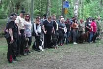 Z výcvikového víkendu psů.