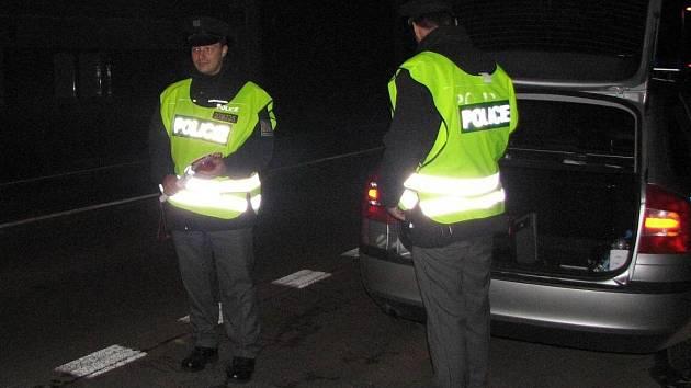 Kontroly policie. Ilustrační foto.