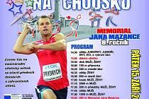 Jubilejní 10. ročník atletického mítinku Hvězdné házení v Domažlicích.