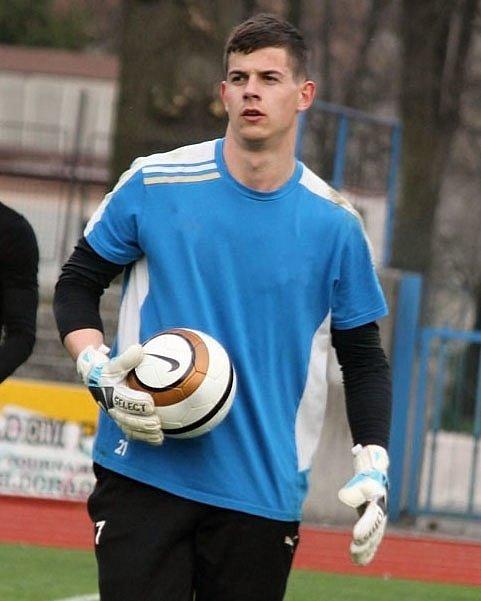 Fotbalový brankář Lukáš Brych.