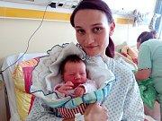 ANNA ŠMÍDOVÁ z Draženova se narodila v domažlické porodnici 25. září v 14.27 hodin.
