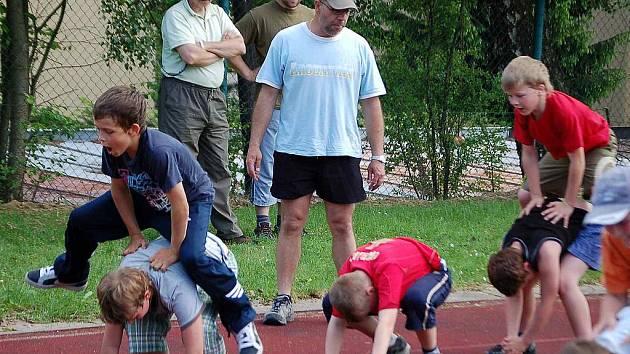 Malým hokejistům HC Domažlice začala náročná letní příprava.