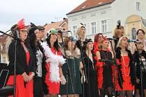 Canzonetta má každoročně mnoho vystoupení.