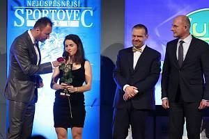 Kateřina Razýmová je mezi nejlepšími sportovci kraje