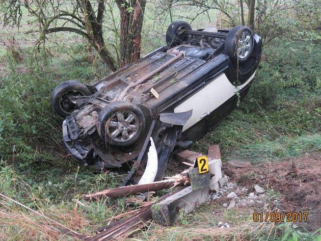 Nehoda u Štítar.