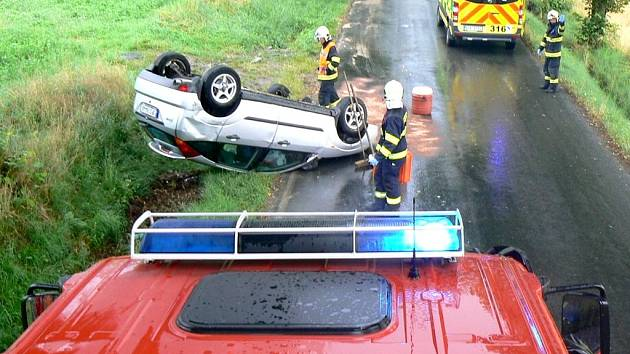Nehoda u Chocomyšli.