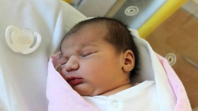 Michaela Žigová z Domažlic se narodila v domažlické porodnici 17. února v 17:35. Její váha při narození byla 3 660 gramů a míra 51 centimetrů.