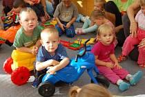 SLUNÍČKO. Domažlické zařízení pro děti do 3 let věku navštěvuje více než dvacítka dětí.