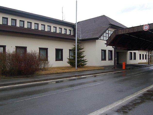 Bývalý hraniční přechod Všeruby.