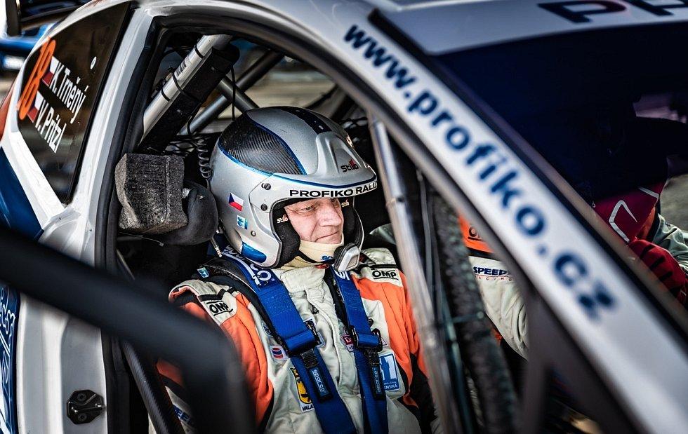 Karel Trněný na Valašské rally 2021.