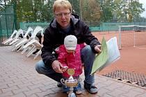 Místopředseda tenisového oddílu Jiskry Domažlice Hynek Šindelář.