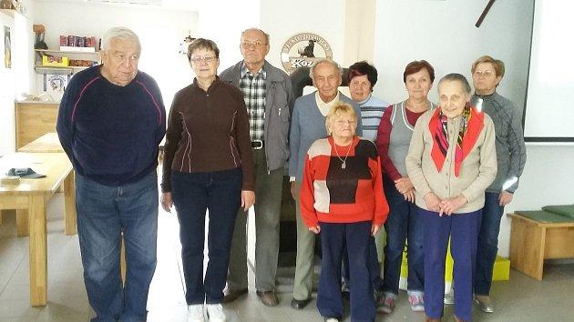 Účastníci univerzity třetího věku VU3V.