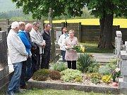 V Pocinovicích rovněž oslavili 73. výročí svobody. Během něj vzpomněli i na popraveného starostu.