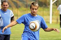 Talentovaný fotbalista Zdeněk Kasýk.