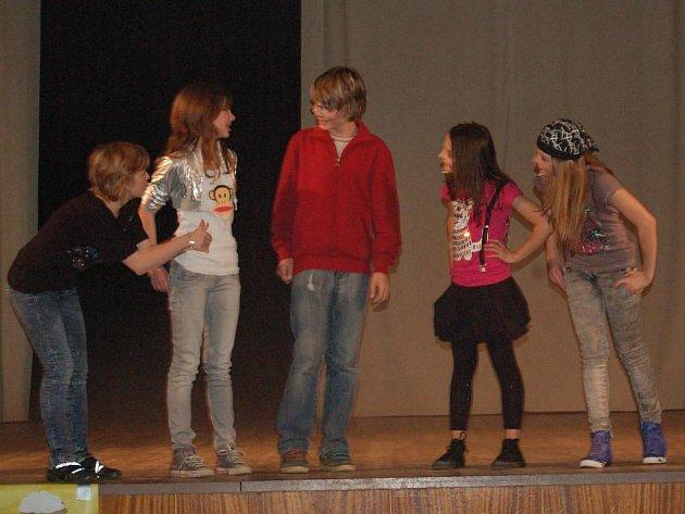 Koncert skupiny 5angels v Domažlicích ve čtvrtek 24. března 2011.