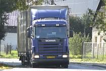 Do Všerub a Prapořišť budou mít stopku kamiony nad 18 tun..
