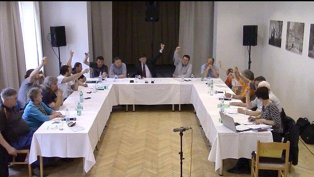 Volba nového radního v Horšovském Týně.