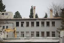 Pavilon dětského oddělení v bývalé domažlické nemocnici.