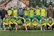 Fotbalisté TJ Dynamo Horšovský Týn.