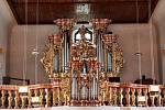 Varhany v kostele sv. Mikuláše ve Kdyni