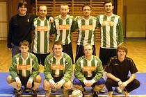 Společný snímek futsalistů Ajax Staňkov.