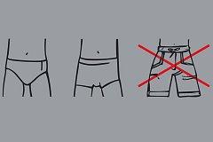Dlouhé šortky s kapsami některé bazény svým hostům nedoporučují nebo i zakazují.