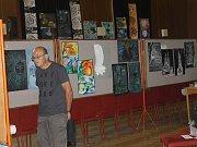 Voda. Tak znělo téma výstavy výtvarného oboru Základní umělecké školy Staňkov.