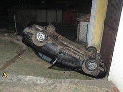 Nehoda v Holýšově.