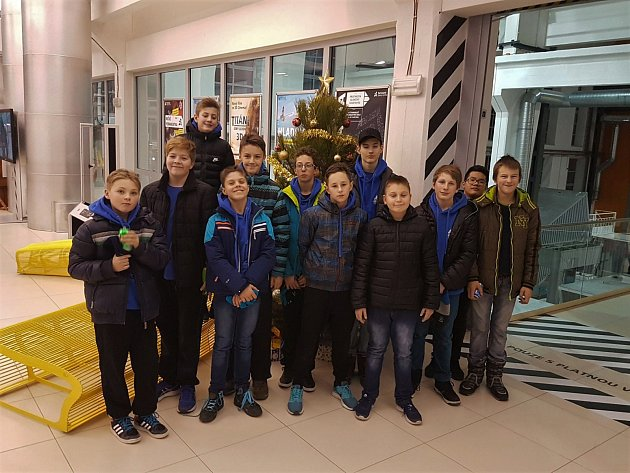 Mladí basketbalisté Domažlic se zúčastnili turnaje v Plzni.