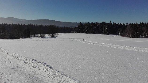 Capartice nabízí skvostné podmínky pro běžecké lyžování.