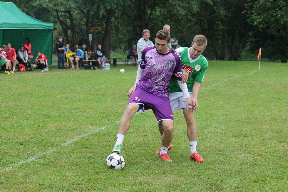 Turnaj v malé kopané v Holubči 2015.