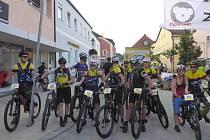 Start loňského ročníku Cyklistické jízdy kolem Waldmünchenu.