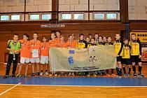 Mezinárodní turnaj mladších žáků.
