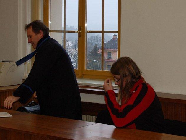 Milan Anders se včera zpovídal u domažlického soudu z krádeže hliníkových válců.