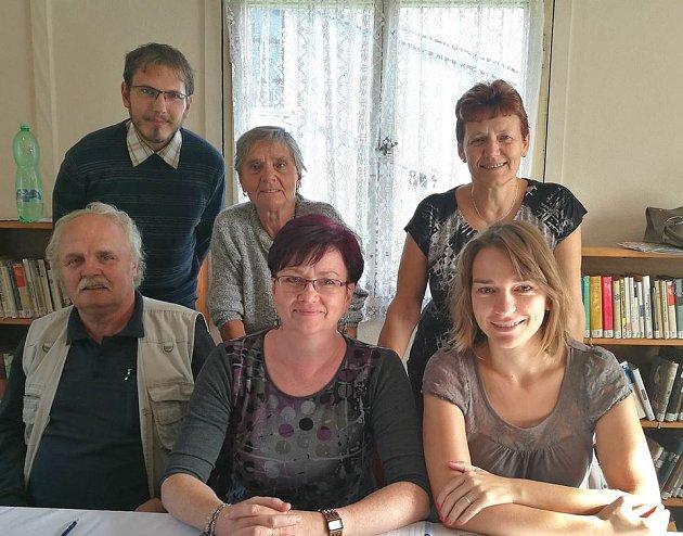 Volební komise z obce Starec u Kdyně na Domažlicku.