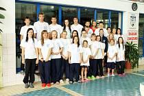 Domažličtí plavci při Velké ceně Chodska.