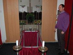 Z návštěvy domažlické pohřební služby.