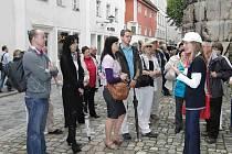 Z výletu do Řezna (Regensburgu).