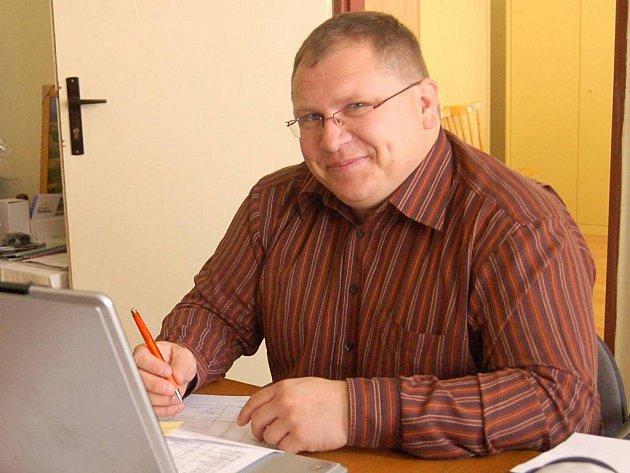 Starosta Poběžovic a předseda svazku Mikroregion Dobrohost Hynek Říha.