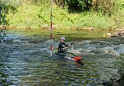 Vodním slalomářům Sedmičky to ve Strakonicích medailově cinkalo.