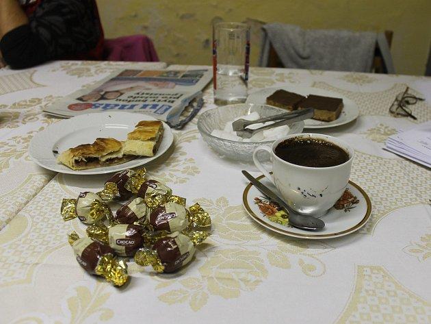 Občerstvení ve Všepadlech.