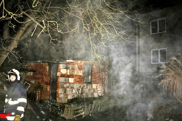 Ze sobotního zásahu hasičů v Draženově.