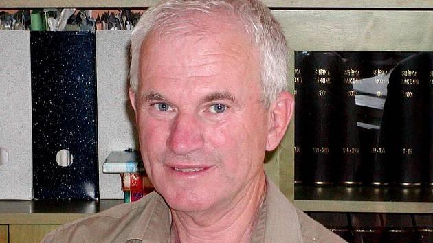 Jan Benda, ředitel Domažlických městských lesů.