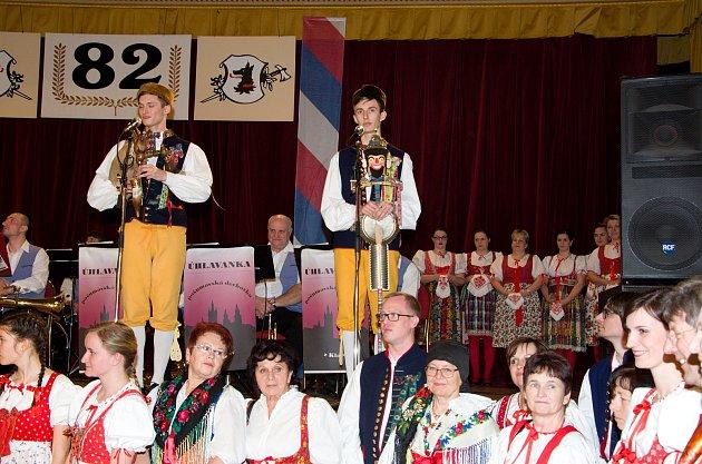 Bratři Hradečtí byli jedněmi z vystupujících na 82. Pošumavském věnečku v Praze.