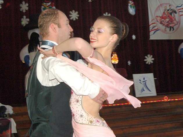 Taneční soutěž v Holýšově.