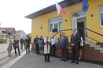 Slavnostní otevření se uskutečnilo v pátek 18. října.