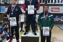 HOLÝŠOV MÁ MISTRA! David Kolář porazil v Hradci Králové v kategorii do 65 kg všechny soupeře a je mistr ČR.