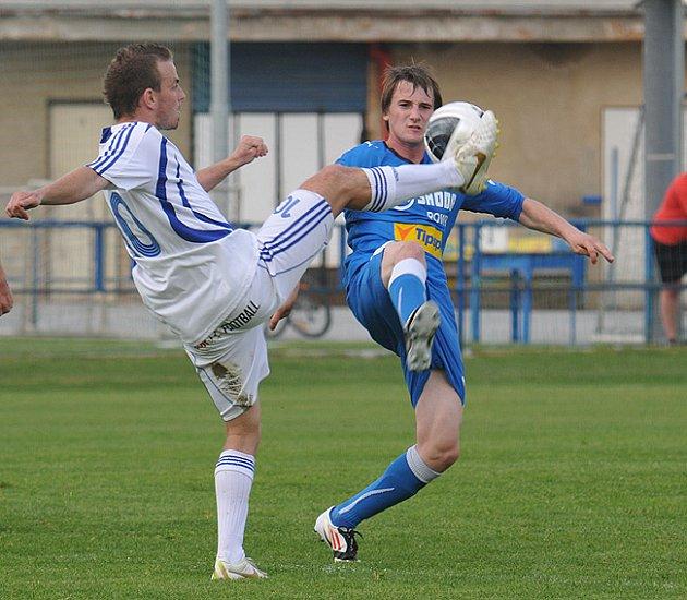 Z utkání fotbalistů FC Viktoria Plzeň B a OEZ Letohrad.